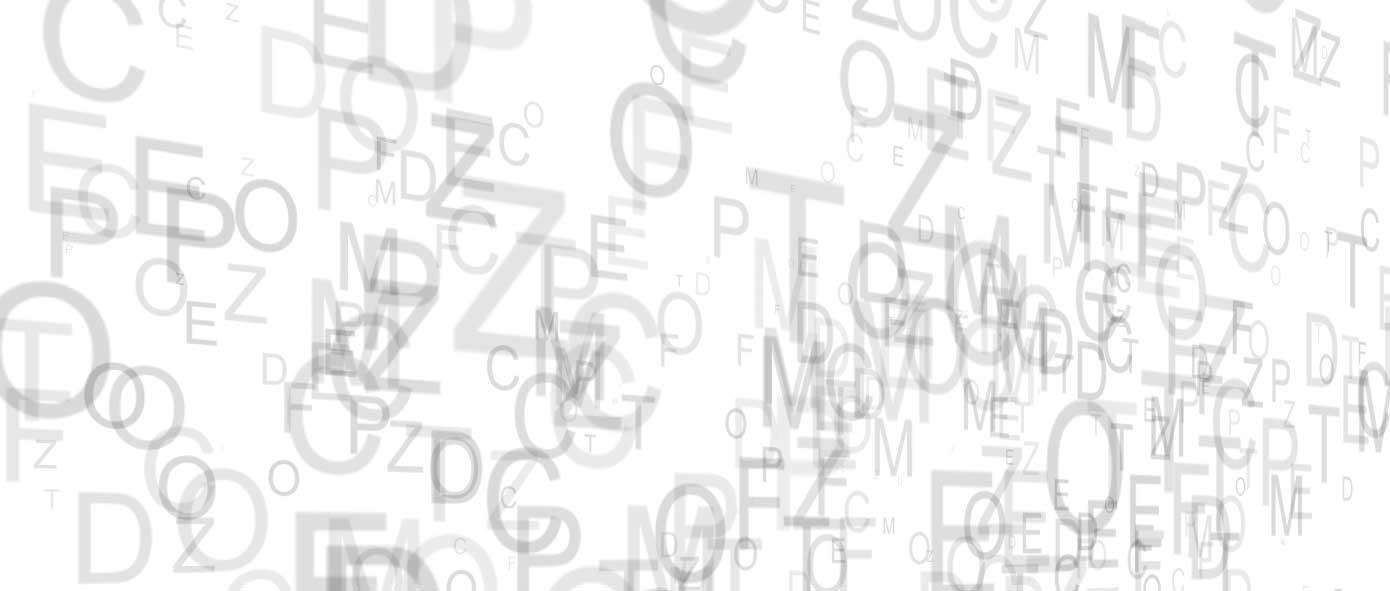 Snellen Chart Letters