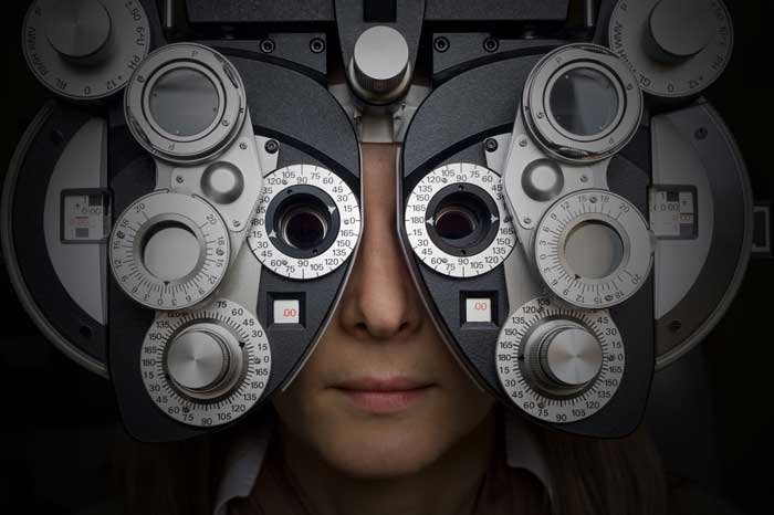 Optometrist Phoropter